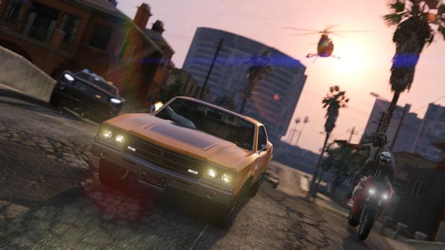 Pen ze v GTA V - GTA V / Grand Theft Auto 5